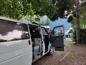 Leirintäalue Comolla