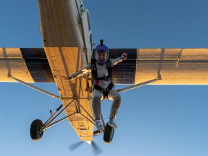 Skydive Verona ja exit