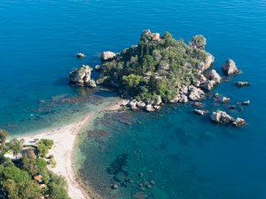 Isola Bellan saari Taorminassa