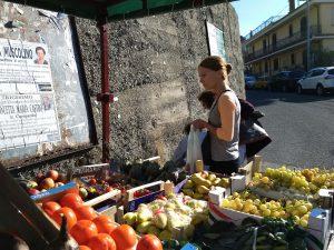 Taorminan markkinoilla