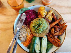 Terveellinen salaatti Eindhovenissa