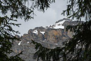 Viime kuussa ihailtiin vuoria Sveitsissä