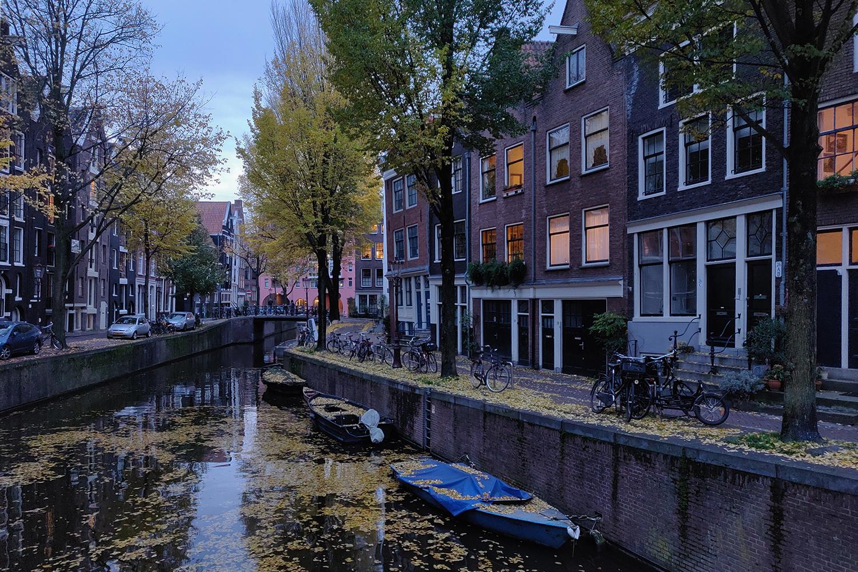 Amsterdam marraskuussa