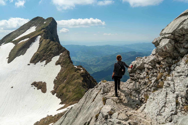 Vaellus Säntis-vuorelle Sveitsissä