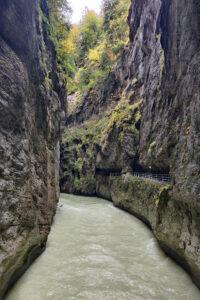 Aareschluchtin kanjoni