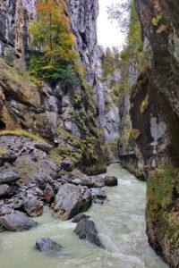 Aareschlucht-kanjoni