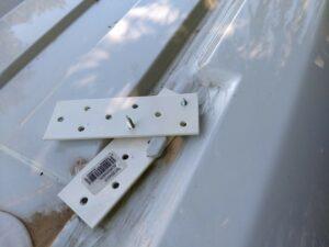 Kattotelineiden kiinnikkeiden prototyyppi