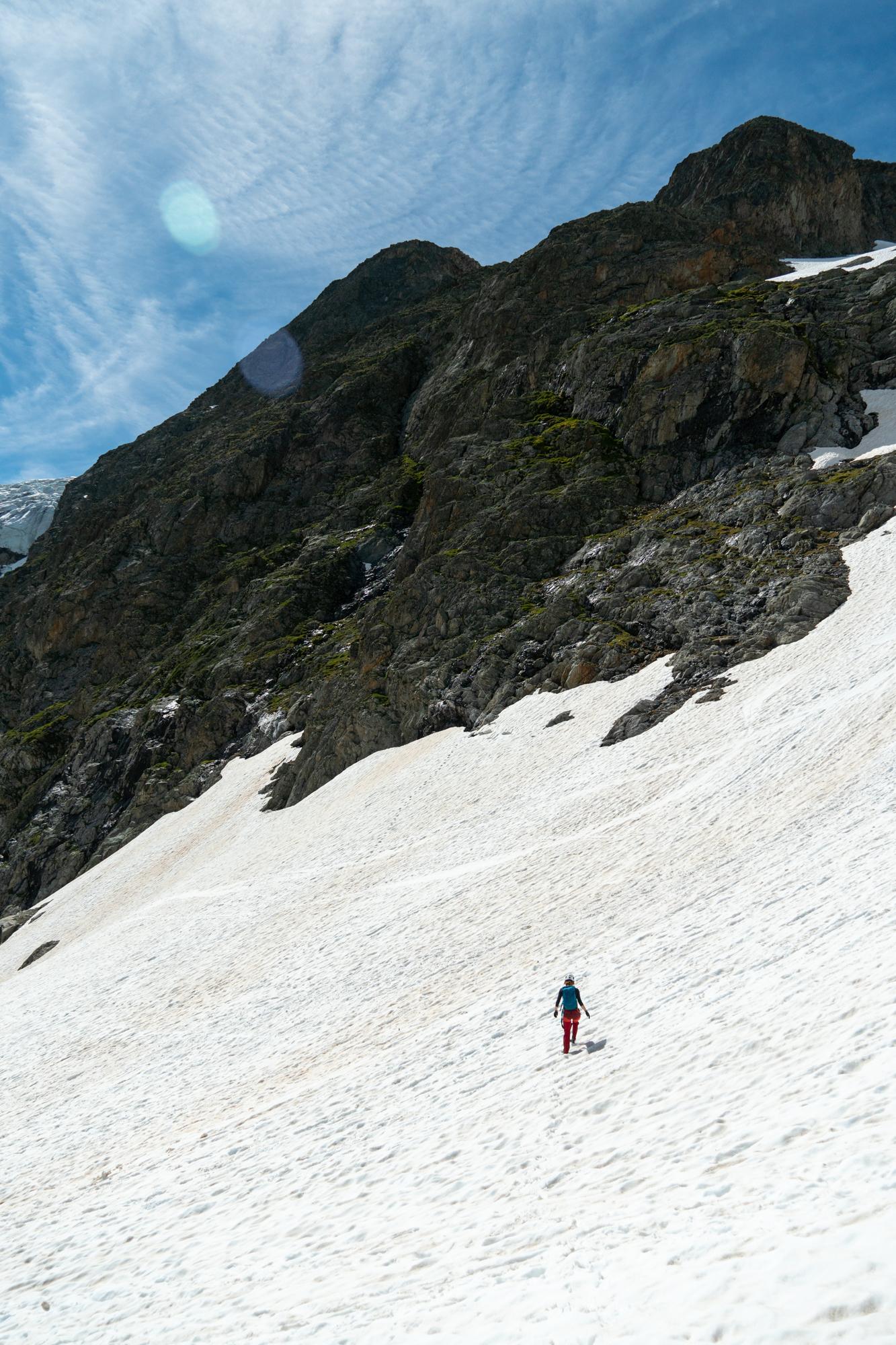Lumikävely Heinäkuussa