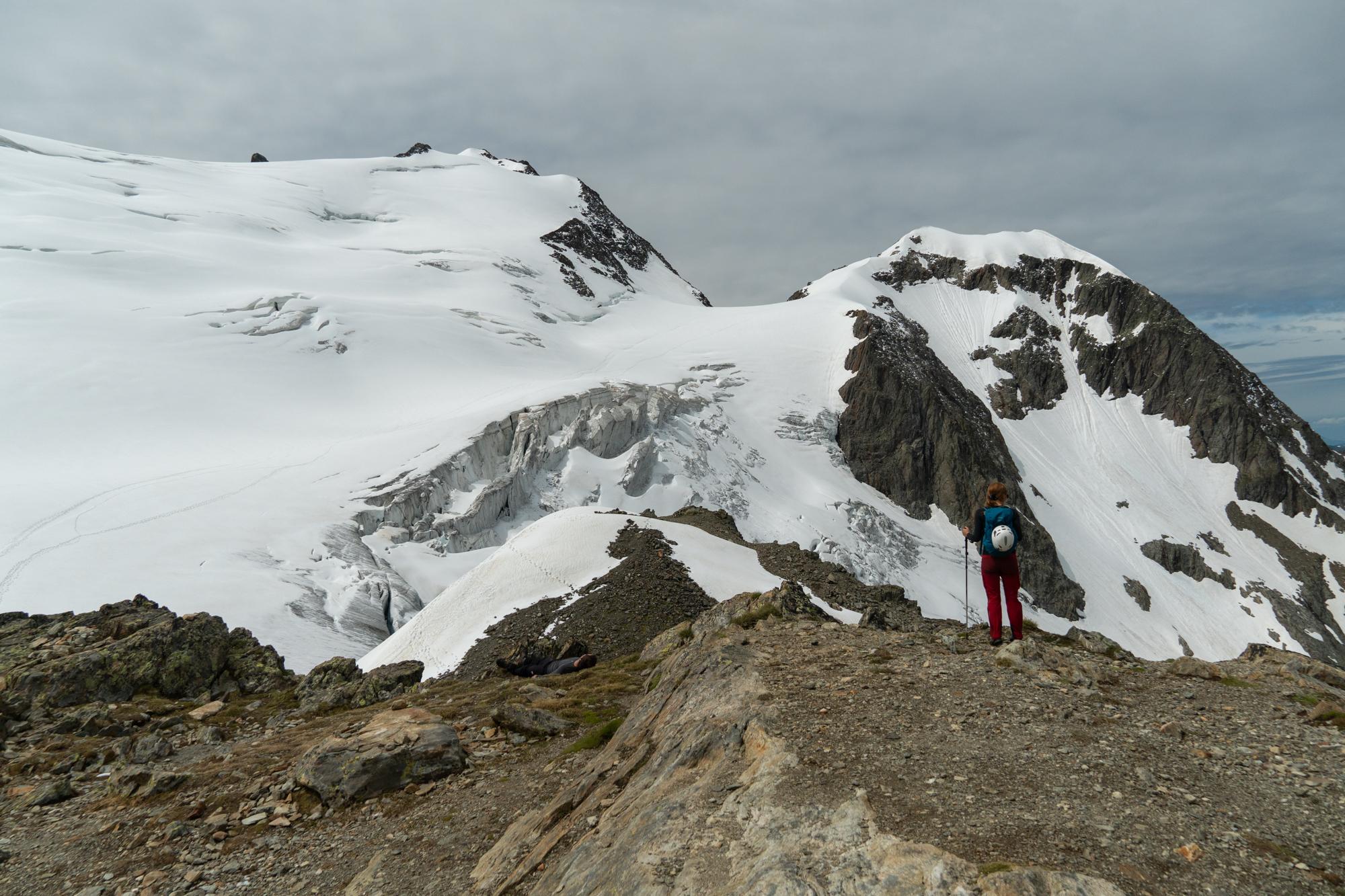 Jäätikkö Sveitsissä