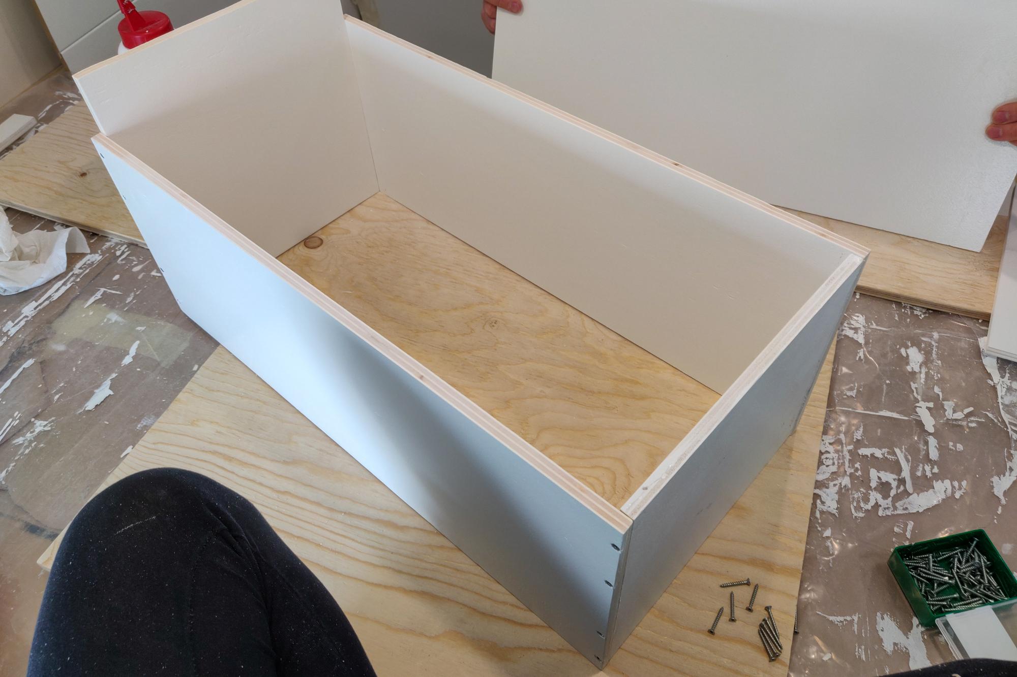 Laatikoiden rakentaminen